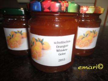 schottisches Orangen Whisky Gelee - Rezept