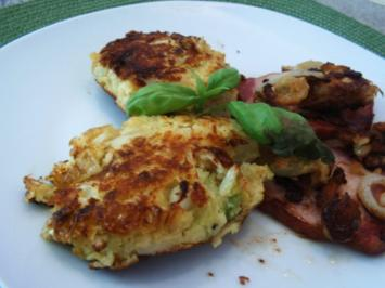 Wirsing-Kartoffel-Plätzchen - Rezept
