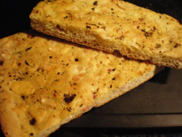 Brot: Pizzabrot - Rezept