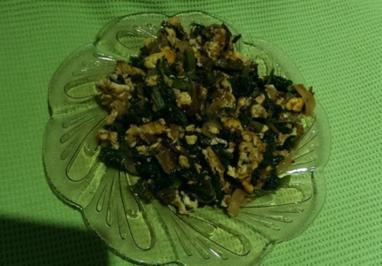 Mangold mit Ei - Rezept