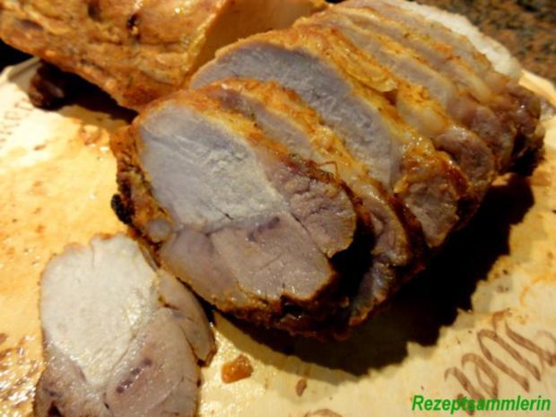 Fleisch:   SCHWEINE - RÜCKENBRATEN - Rezept