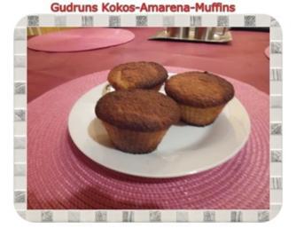 Muffins: Kokos-Amarena-Muffins - Rezept