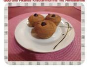 Muffins: Pikante Kräutermuffins mit Minisalamie - Rezept