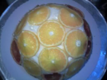 Orangen-Kuppel-Torte - Rezept