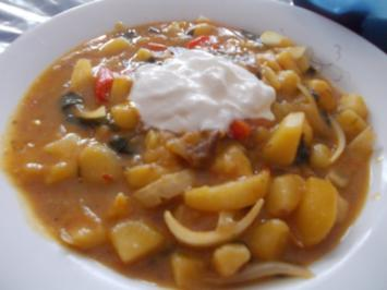 Suppe - Kartoffel~Paprika~Topf - Rezept
