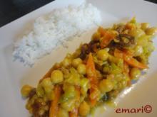 Indische Gemüse Pfanne - Rezept