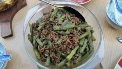 Rezept: Chinesischer Bohnensalat