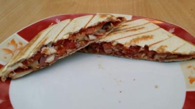 Toast Calzone - Rezept