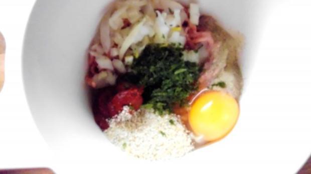 hackbällchen in feuriger tomatensosse - Rezept - Bild Nr. 2