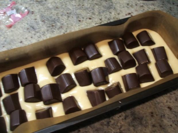 Backen: Mon Cherie-Kuchen - Liebe Brigitte, der ist NUR für Dich! Herzlichen Glückwunsch! - Rezept - Bild Nr. 6