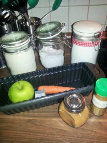 Apfel-Karottenbrot aus Vollkorn - Rezept - Bild Nr. 3