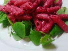 Pink Pasta - Rezept
