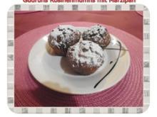 Muffins: Rosinenmuffins mit Marzipan - Rezept