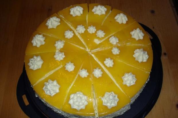 Pfirsich Quark Torte Ohne Backen Rezept Kochbar De