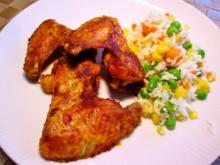 Chicken Wings, wenn jemand gern an Knöchelchen nagt - Rezept