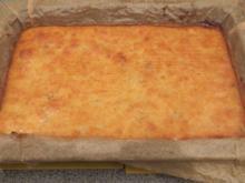 Backen: Mini Grieß-Kokos-Kuchen mit Cranberries - Rezept