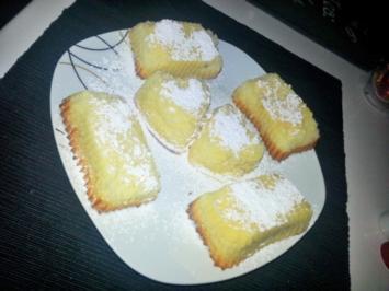 Mini Vanille-Käsekuchen - Rezept