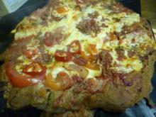 Vollkornpizza Paprika-Chili-Schinken - Rezept