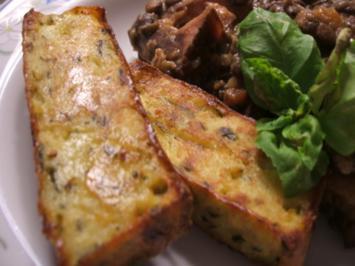 Kartoffeln: Gebackene Klöße oder Kartoffelkuchen - Rezept