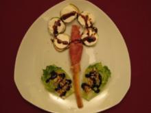 Salat-Feigen-Blume - Rezept