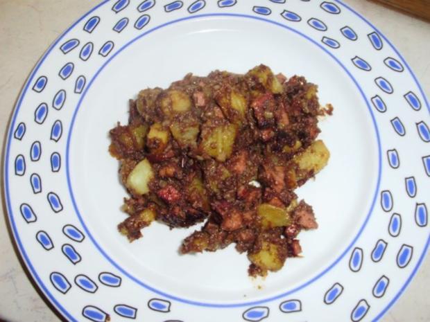 Füllselkartoffeln - Rezept