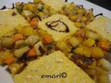 Ägyptische Gemüse Pfanne - Rezept