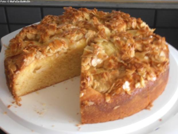 Apfelkuchen Mit Honig Mandel Knusper Rezept Kochbar De