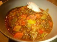 Gemüse-Topf mit Rindfleisch - Rezept