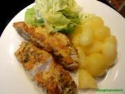 Fisch:   KABELJAU in Gewürz-Ei-Panande - Rezept