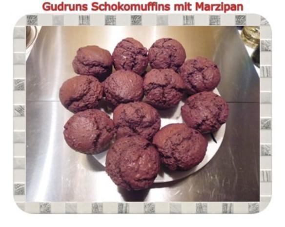 Muffins: Schokomuffins mit Marzipan - Rezept - Bild Nr. 16