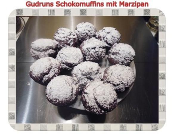 Muffins: Schokomuffins mit Marzipan - Rezept - Bild Nr. 17
