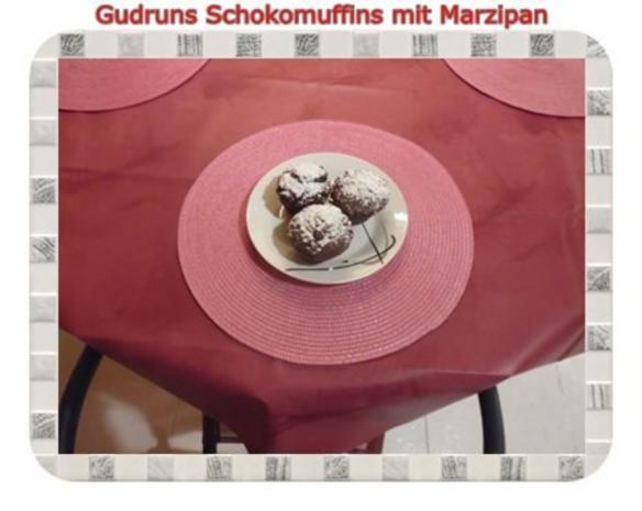 Muffins: Schokomuffins mit Marzipan - Rezept - Bild Nr. 18
