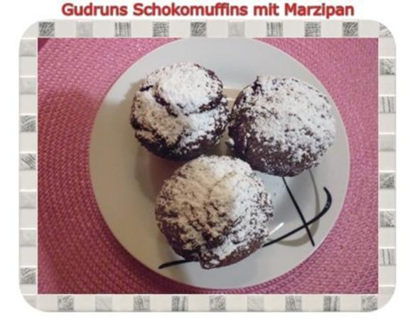 Muffins: Schokomuffins mit Marzipan - Rezept - Bild Nr. 19