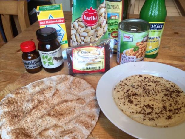 Hummus mit Pistazien - Rezept - Bild Nr. 3