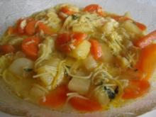 Gemüsesuppe ,Winterliche. - Rezept