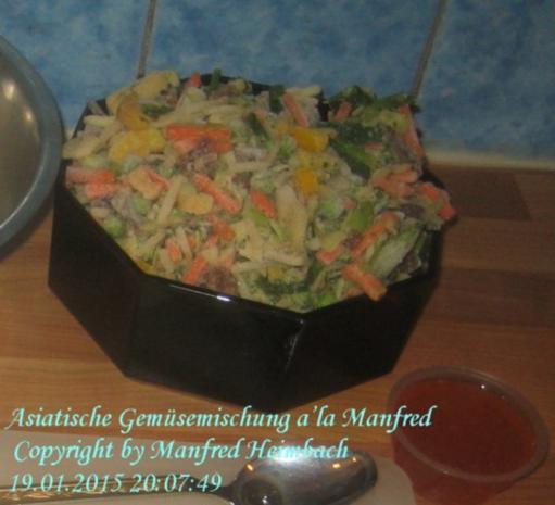 Gemüse – Asiatische Gemüsemischung a'la Manfred - Rezept - Bild Nr. 2