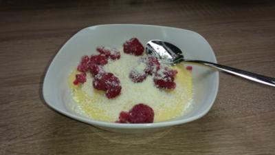 Weißer Schokopudding - Rezept