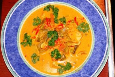 Thailändische Hühnersuppe - Rezept