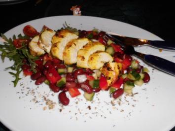 Chilenische Hähnchenbrust>> - Rezept