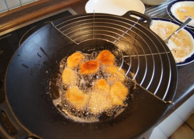 Chicken Nuggets mit Wokgemüse süß-sauer und Reis - Rezept - Bild Nr. 6