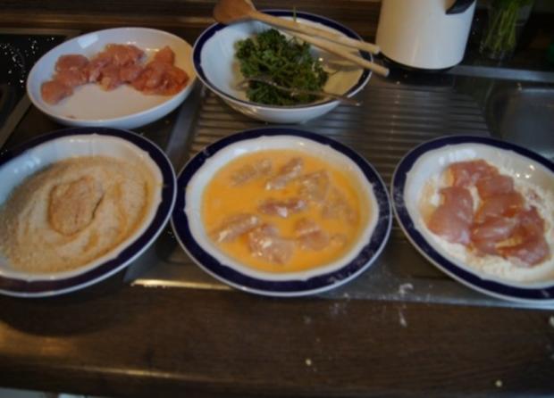 Chicken Nuggets mit Wokgemüse süß-sauer und Reis - Rezept - Bild Nr. 5
