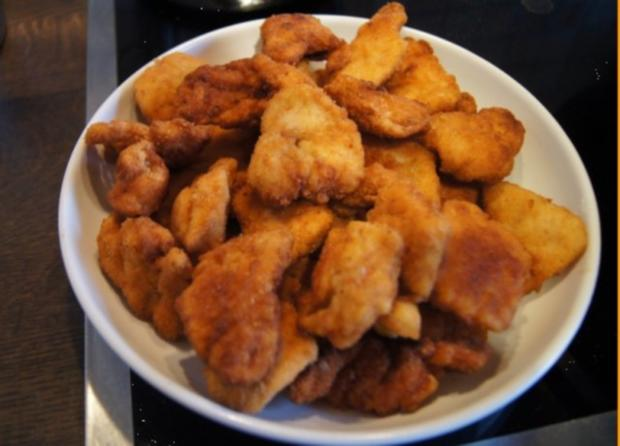 Chicken Nuggets mit Wokgemüse süß-sauer und Reis - Rezept - Bild Nr. 9