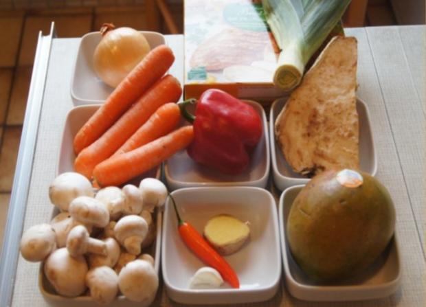 Chicken Nuggets mit Wokgemüse süß-sauer und Reis - Rezept - Bild Nr. 2