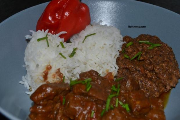 TexMex Chili con carne mit schwarzer Bohnenpaste - Rezept - Bild Nr. 3