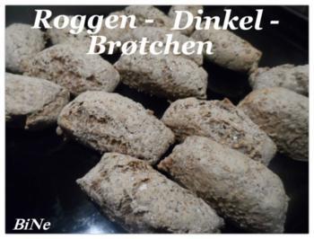 BiNe` S ROGGEN - DINKEL - BRØTCHEN - Rezept - Bild Nr. 2