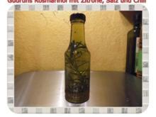 Öl: Rosmarinöl mit Zitrone und Chili - Rezept