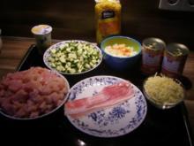 Nudel-Hähnchen-Auflauf - Rezept