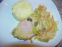 Kasselersteaks mit Gemüse-Julienne - Rezept