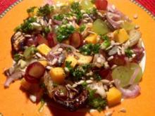 Fenchel-Trauben-Salat mit Käse - Rezept