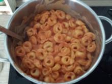 Käse-Tortellini mit Tomatensauce - Rezept